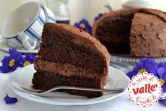 Torta tartufone al cioccolato, caffè e rhum per la festa del papà #festadelpapa