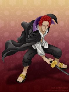 OP: Shanks by MasamuneRevolution on DeviantArt