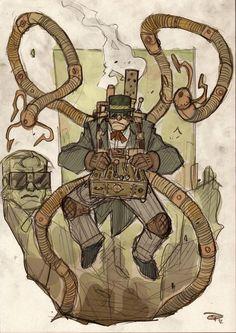 homem-aranha-steampunk-denis-medri (2)