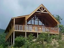 Pigeon Forge, TN: Pigeon Forge chalet rentals: Bluff Mountain Chalet 295 is a 1 bedroom, 2 bath chalet located about 5 miles from downtown Pigeon Forge. This lovely cab... Vacation Rental
