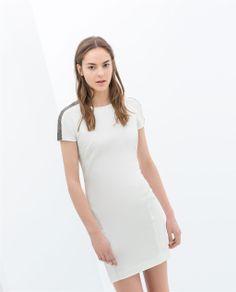 NEW Dress Zara beautiful white dress Zara Dresses Mini Beautiful White Dresses, Zara Dresses, Zara Women, Fashion Tips, Fashion Design, Fashion Trends, New Dress, Short Sleeve Dresses, Dresses For Work