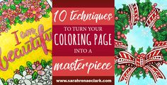 Want to make your coloring pages pop? These 10 surprisingly simple techniques will help improve your coloring and make you look like a pro!