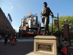 Oriole Park at Camden Yards. Babe Ruth