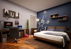 Are You Dizzy Think About The Accent Wall Painting Color Ideas For Your House This Is Cure Fantastic Bathroom