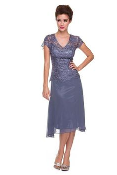 Simply Gorgeous Mother of the Bride Dress Formal Sale - The Dress Outlet - 1