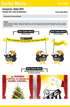 Campanha - Natal Santos Mania