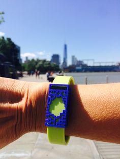 Great run along the west side bike path to Battery Park! Feeling great and looking great, sporting a bytten slide for Fitbit Flex (featured above in blue with lime green Fitbit Flex wristband). At bytten, we believe that a healthy life should be a stylish life! Your fitness tracker deserves a makeover! Available soon at bytten.com, sign up now for pre-launch updates. #getbytten #wearabletech