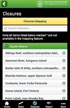 SA Recreational Fishing Guide - screenshot