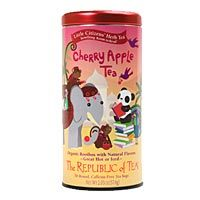 Cherry Apple Red Tea Bags. FOR KIDS. my little doesn't drink juice, but this is a great alternative for those that do!
