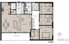 4+kk / Majo Atrium, My House, Floor Plans, Sims 4, Houses, Homes, House, Computer Case, Floor Plan Drawing