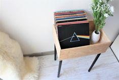 DIY meuble furniture rangement caisse bois vin wine box wood upcycle tuto brico rangement organisation disque vinyl music decoration minimalism minimaliste scandinave hygge