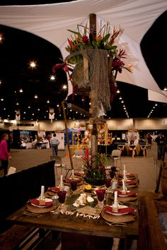 Uncharted Island Getaway Tabletop entry by Rendezvous Catering & Events