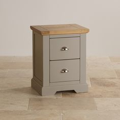Use this bedside cabinet bring some of St Ives's elegance to your bedroom. Two good sized drawers keep bedroom muddle tidied away. Free delivery. Shop now!