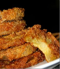 Cook Lisa Cook: Fried Green Tomatoes OH MY WORD!