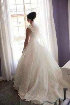 Shanelle Gown De Lanquez Bridal Photos compliment of Bride Diane Chammas ❤️❤️