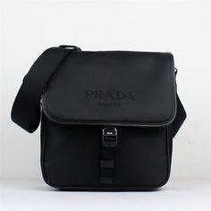 Black Prada Messenger Bags