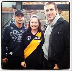 Thx for being good sports yesterday @the_pushup_king @DanJackson23 from @Richmond_FC (not that @moctigan & @king_melanie gave you a choice!)