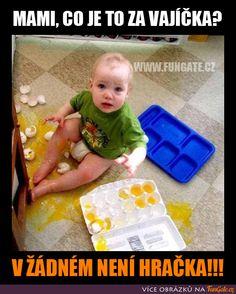 Mami, co je to za vajíčka? Stupid Memes, Funny Texts, Haha, Funny Pictures, Jokes, Entertaining, Smile, Quote, Fanny Pics