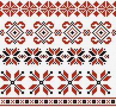 Cross Stitch   Ukrainian Patterns xstitch Chart   Design