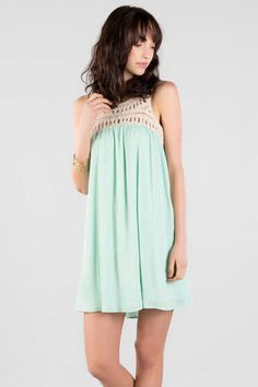 Elva Crochet Dress