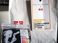 Princesse Tam Tam X Uniqlo - des Galeries Lafayette à mon dressing ... - Charonbelli's blog mode
