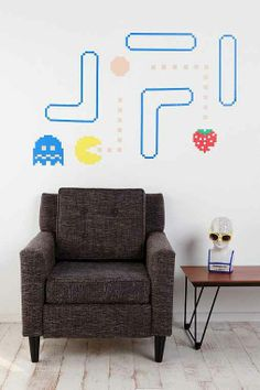 Pac-Man Wall Decals - Urban Outfitters