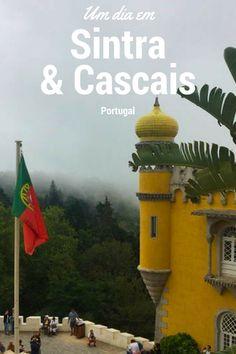 Um dia em Sintra e Cascais a partir de Lisboa. Blog de Viagens - Turistando com a Lu #europa #portugal #sintra #cascais #viagem #travel #viajar