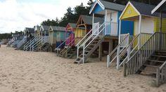 Beach huts at Wells next the sea