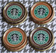 Bottled Starbucks Frappuccino Magnets Great for inside the locker. Young teens are nuts for these!!!