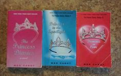 Meg Cabot-Lot of 3 Princess Diaries Books  $5.99