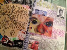 Mind map & artist research   identity