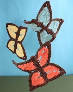 Crochet Butterfly Dishcloth - FamilyCorner.com Forums