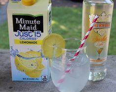 93 Calorie Mango Passion Fruit Lemonade Cocktail