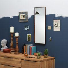 Buy John Lewis Rectangle Iron Mirror, H30 x W76cm Online at johnlewis.com