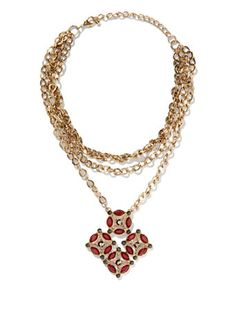 Shop Eva Mendes Collection - Medallion Choker. Find your perfect size online at the best price at New York & Company.