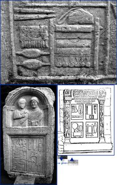 Weaving ancient Asia Minor | Michel Feugère - Academia.edu . Roman era warp weighted loom on funerary stele, depicting loom, spindles, comb, etc.