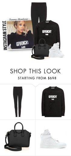 """Instagram Style: Tammy Hembrow"" by hollowpoint-smile ❤ liked on Polyvore featuring Givenchy"