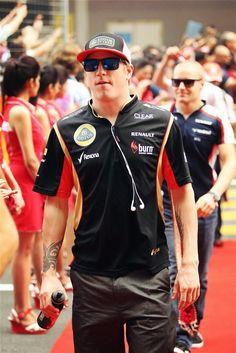 Kimi Räikkönen @ the 2013 Formula 1 AIRTEL Indian Grand Prix