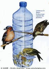 Resultado de imagem para casa de passarinho com garrafas pet