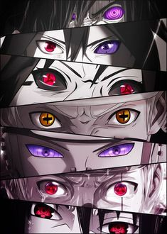 'Naruto Eyes' Poster Print by Undermountain | Displate