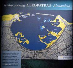 Map of Cleopatras Alexandria by SDWelch1031, via Flickr