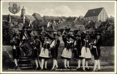 Ansichtskarte / Postkarte Schwäbisch Hall in Baden Württemberg, Tanz der kleinen Sieder