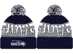 2017 Winter NFL Fashion Beanie Sports Fans Knit hat Nfl Seattle 96e645819