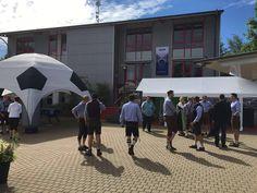#DeskCenterSolutions #bavarian #bavaria #football #em #tent #blue #bluesky #sun #sunshining #company #event #munich #ilovemunich