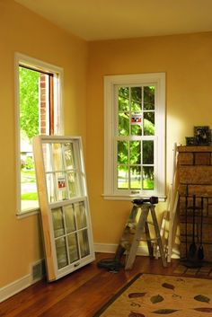 Surprising cost-savings from your replacement windows and doors. Serving Orange County and Los Angeles areas. Diy Window Replacement, Installing Replacement Windows, Vinyl Replacement Windows, House Windows, Windows And Doors, Front Doors, Vinyl Windows, Garage Doors, Houses