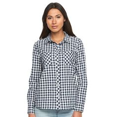 Women's Levi's Classic Boyfriend Plaid Shirt