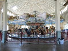 The world's only two-row stationary carousel built from an original Dentzel blueprint left in the Highland Park Dentzel Carousel and Shelter Building, is located in Highland Park in Meridian, Mississippi. Meridian Mississippi, Mississippi State, Merry Go Round Carousel, Delta Girl, Ferris Wheels, William Faulkner, Sweet Magnolia, Carousel Horses, Best Places To Live