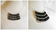 Miss P: DIY: Bugle Bead Fringe Torque/Necklace