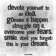 Keep your dreams BIG! #inspire #quote