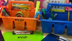 Classroom Managment Tip: V.I.P Boxes for a positive behavior incentive or reward.